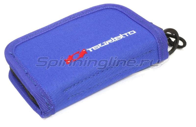 Кошелек для блесен Tsuribito Wallet M blue - фотография 1