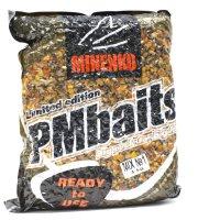 Зерновая прикормка PMBaits Ready to use mix №1 Кукуруза-конопля 4кг.