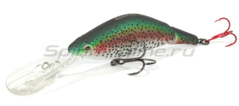 Воблер Gonzo 80DR Rainbow Trout -  1