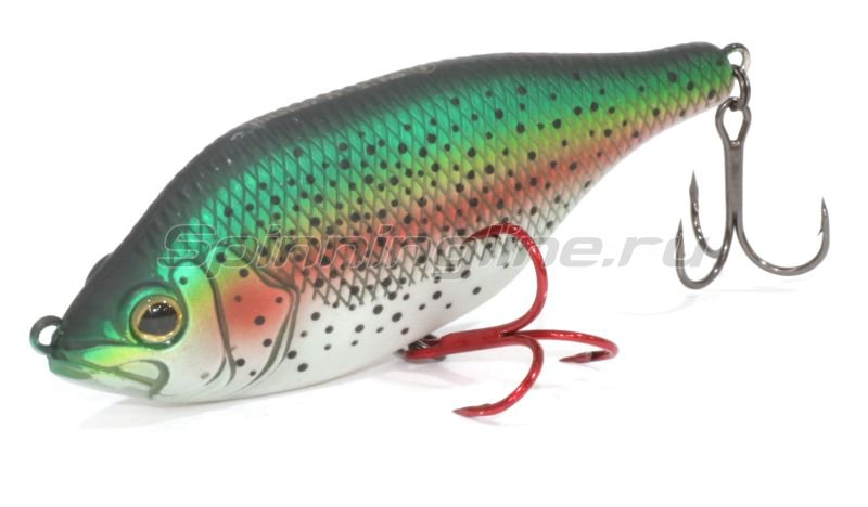 Воблер Hitcher Jerk&Twitch 80F Rainbow Trout -  1