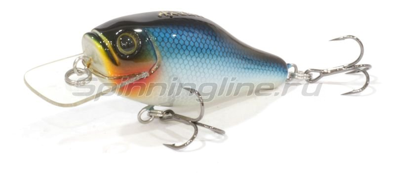 AR Lures - Воблер Minnow 55D Blue Black Back - фотография 1
