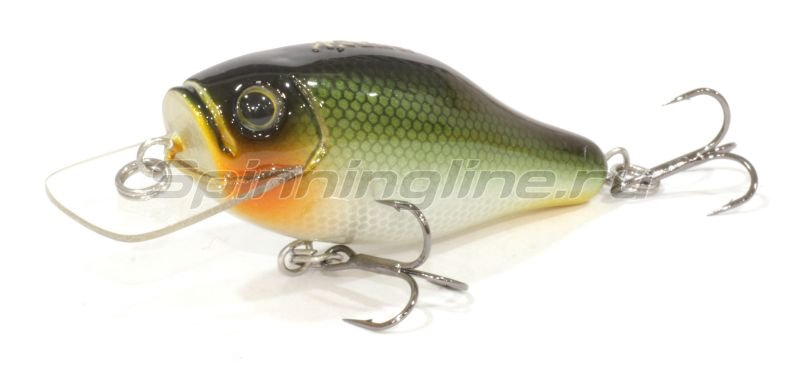 AR Lures - Воблер Minnow 55D Green Black - фотография 1