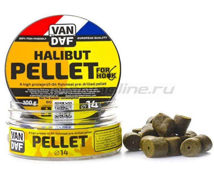 Пеллетс Van Daf Halibut 14мм - фотография 1