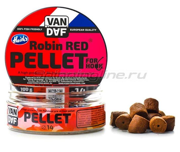 Пеллетс Van Daf Robin Red 14мм -  1