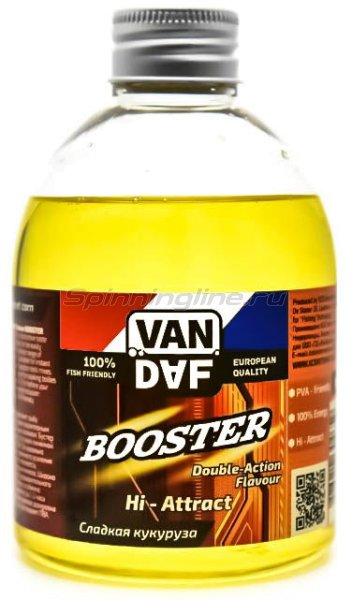 Бустер Van Daf Сладкая кукуруза 300мл - фотография 1