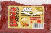 Активатор клева сухой 100 поклевок Super Activ Красный червь 250гр
