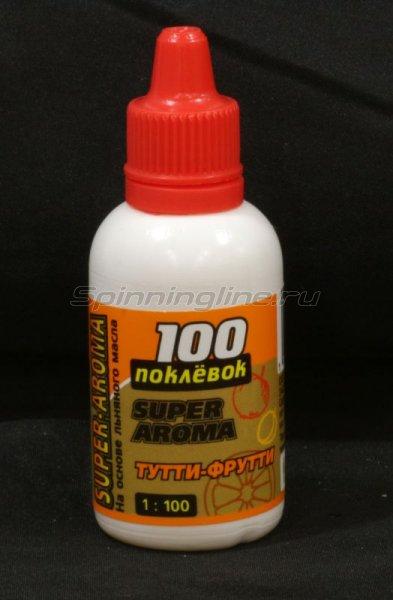 Арома-капли 100 поклевок Super Aroma Тутти-Фрутти 30мл -  1