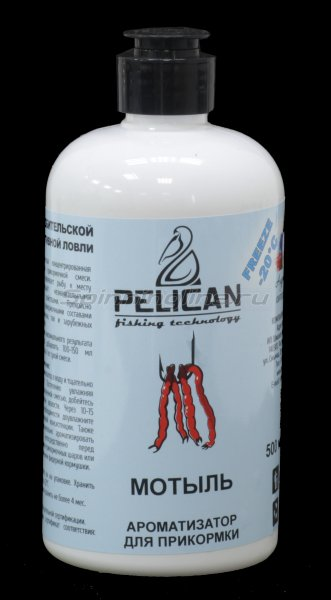 Ароматизатор Pelican Мотыль 500мл -  1