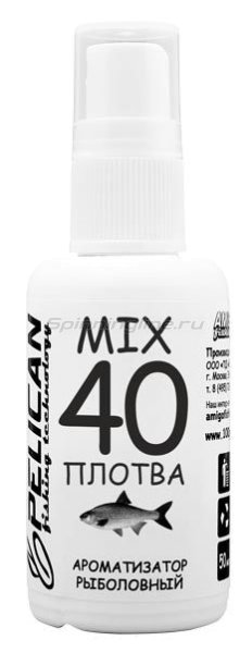 Дип Pelican Mix 40 Плотва 50мл - фотография 1
