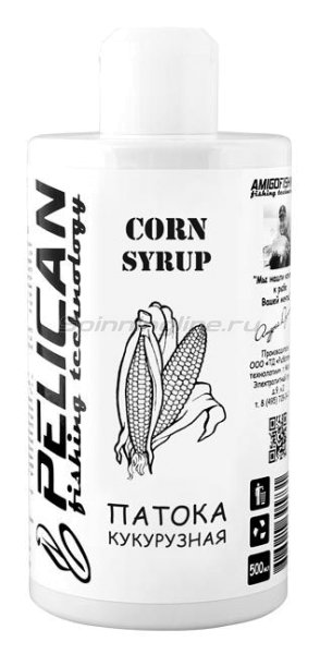 Добавка Pelican Corn syrup 500мл - фотография 1