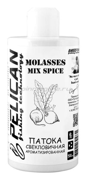 Добавка Pelican Molasses mix spice 500мл - фотография 1