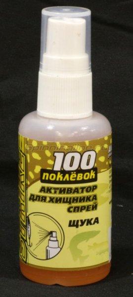 Спрей 100 поклевок Strike Щука 50мл -  1