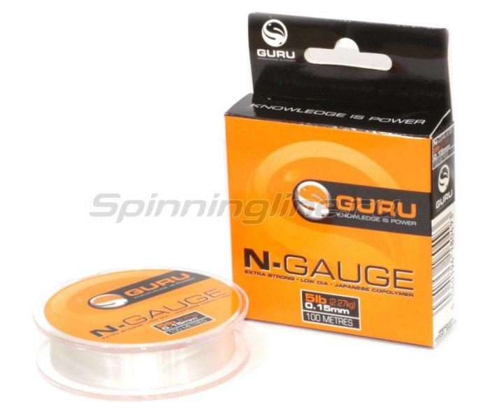 Guru - Леска N-Gauge 100м 0,17мм - фотография 1