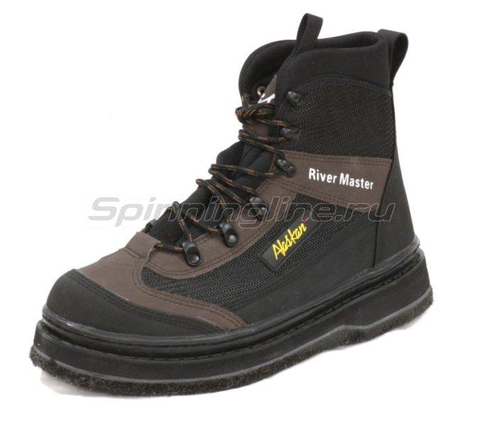 Ботинки забродные Alaskan River Master 10 войлок - фотография 1