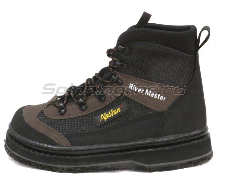 Ботинки забродные Alaskan River Master 10 войлок - фотография 2