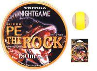 Плетеный шнур Unitika NightGame PE Rock 150