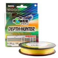 Плетеный шнур Power Pro Multicolor 100