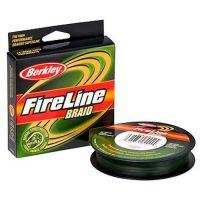 Плетеный шнур Berkley FireLine Lo Vis Green Braid 110