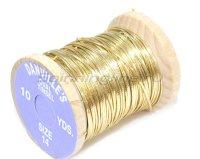 Люрекс овальный Oval Tinsel-Gold-L OVTG-L