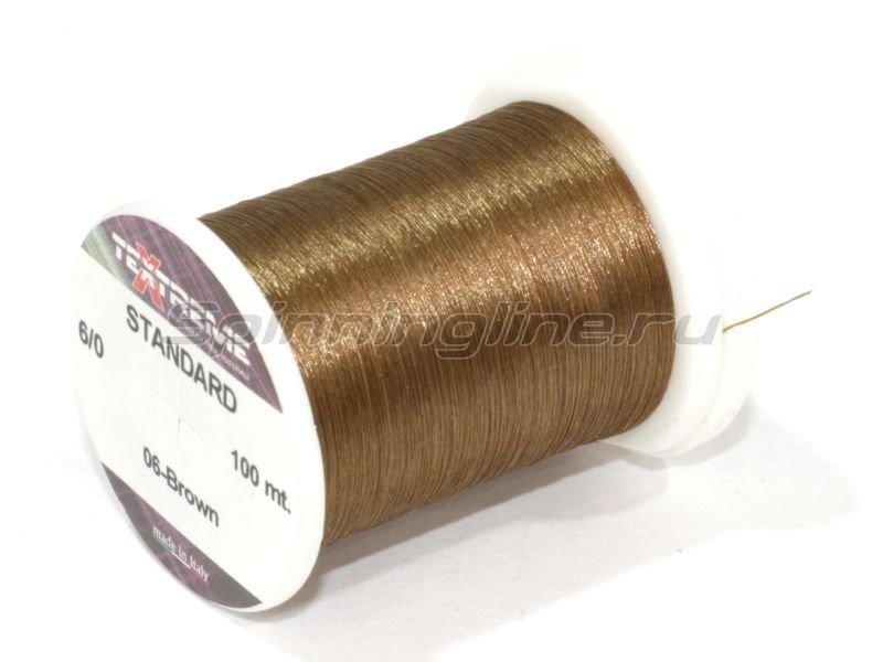 Textreme - Нить Standart 6/0 brown - фотография 1