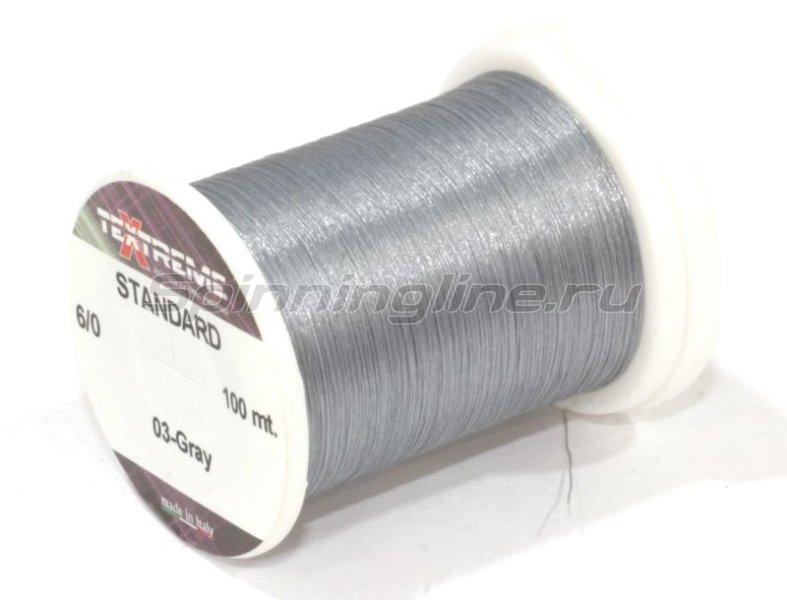 Textreme - Нить Standart 6/0 03-gray - фотография 1