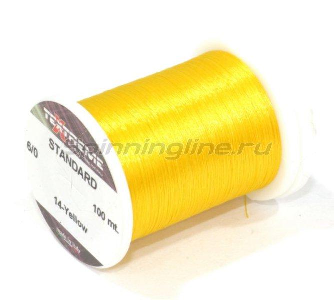 Textreme - Нить Standart 6/0 yellow - фотография 1