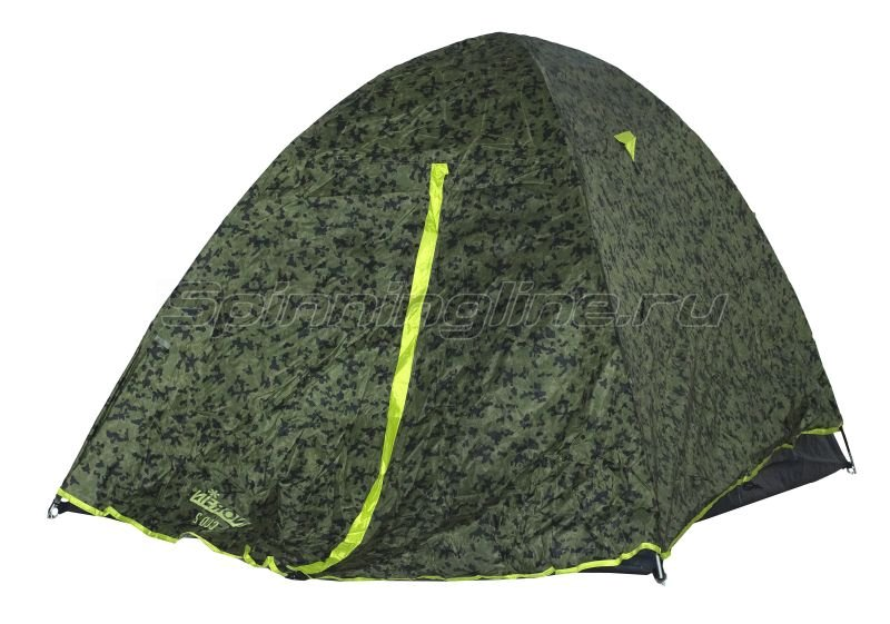 Палатка туристическая Norfin Cod 2 NC - фотография 1