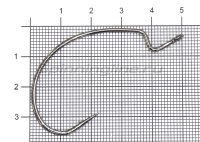 Крючок Decoy KG Hook Wide Worm 25 №5/0