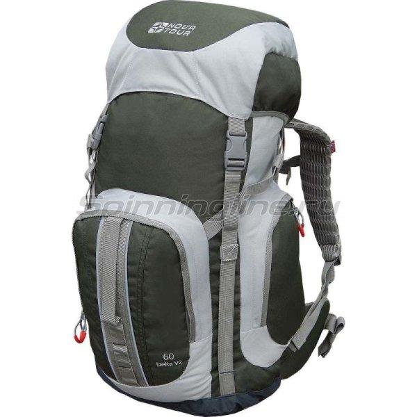 Рюкзак Дельта 60 V2 серый/олива -  1