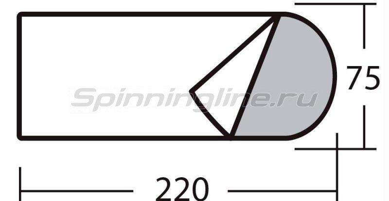 Спальный мешок с подголовником +5с -  2