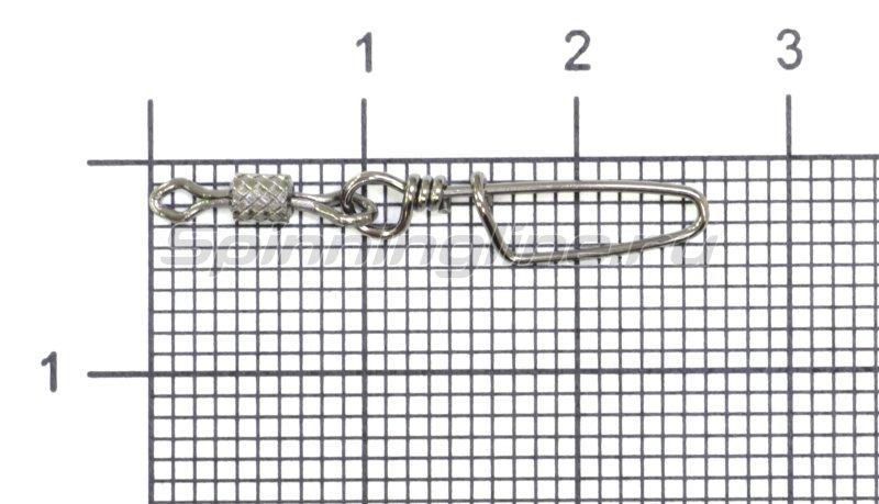 STRIKE PRO - Вертлюг цилиндр с накаткой и застежкой Coastlock №8x0 - фотография 1