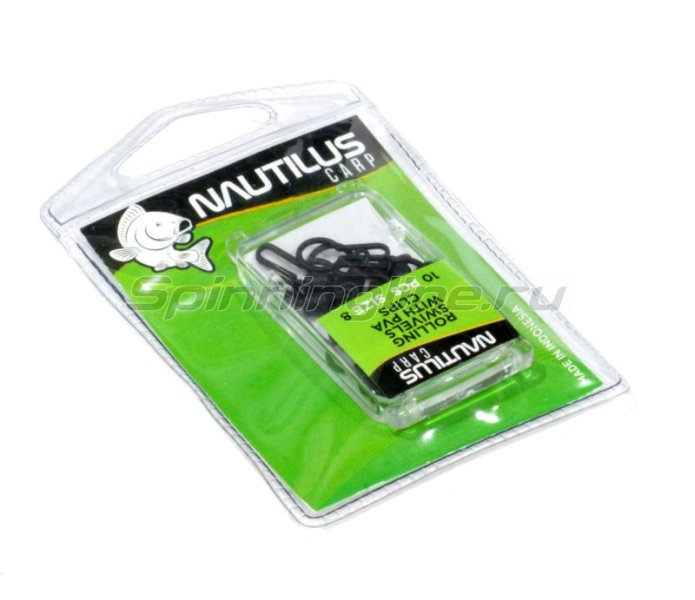 Nautilus - Rolling swivels with pva clips №8 - фотография 1