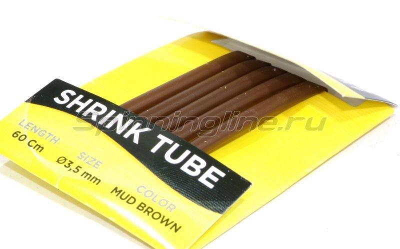 Nautilus - Трубка термоусадочная Shrink Tube 2,5мм 60см mud brown - фотография 2
