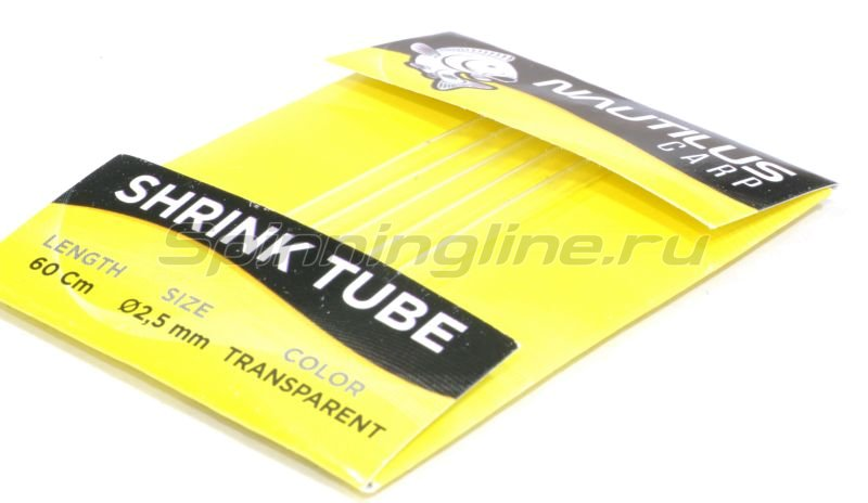 Трубка термоусадочная Shrink Tube 2мм 60см clear -  2