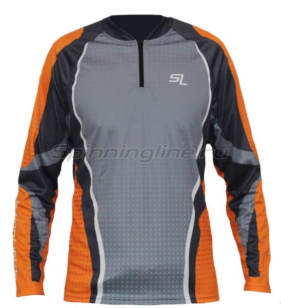 Футболка Spinningline Long Sleeve Zip р.52 - фотография 1
