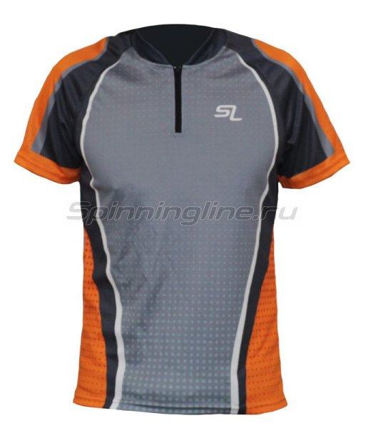 Футболка Spinningline Short Sleeve Zip New р.52 - фотография 1