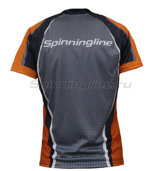 Футболка Spinningline Short Sleeve Zip New р.52 - фотография 2