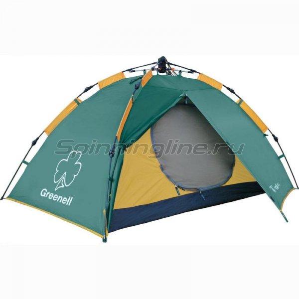 Greenell - Палатка туристическая Трале 2 V2 зеленый - фотография 1