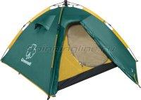 Палатка туристическая Клер 3 V2 зеленый