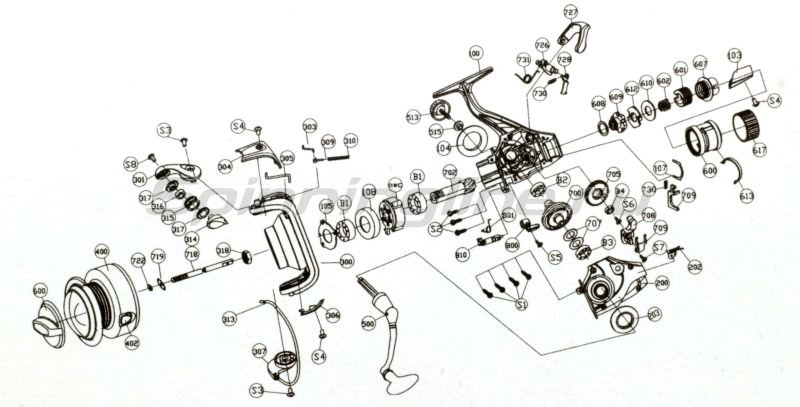 Катушка Karp XU6000R -  6