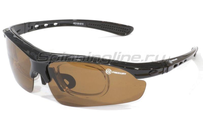 Очки Freeway XQ109-B15 коричневый -  1