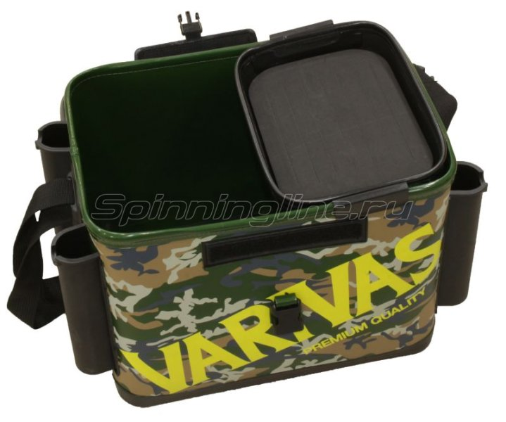 Сумка Varivas Tackle Bag VABA-08 36см green camouflage -  3