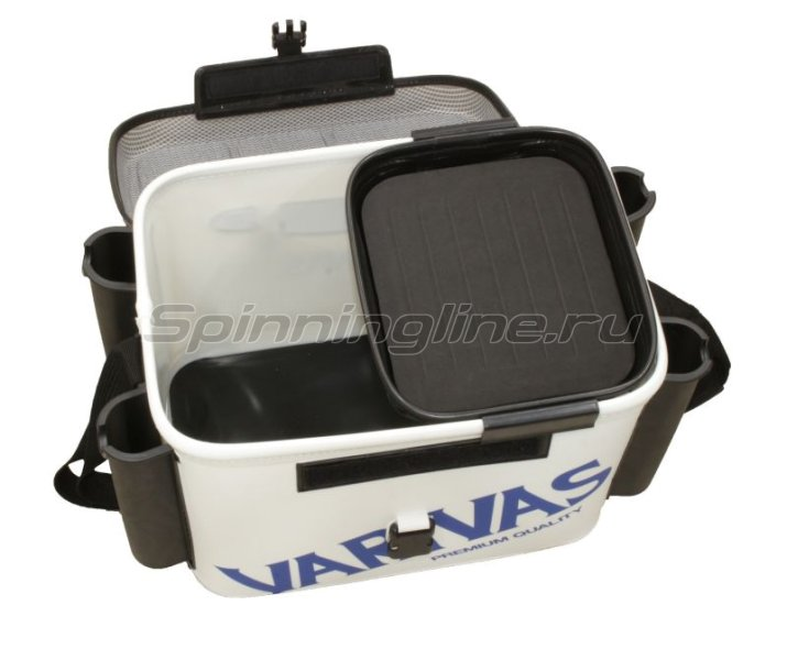 Сумка Varivas Tackle Bag VABA-08 40см white - фотография 3