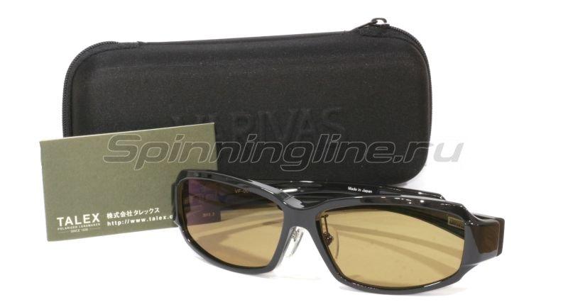 Очки Varivas Xrossfeel VF-001 raster brown -  1