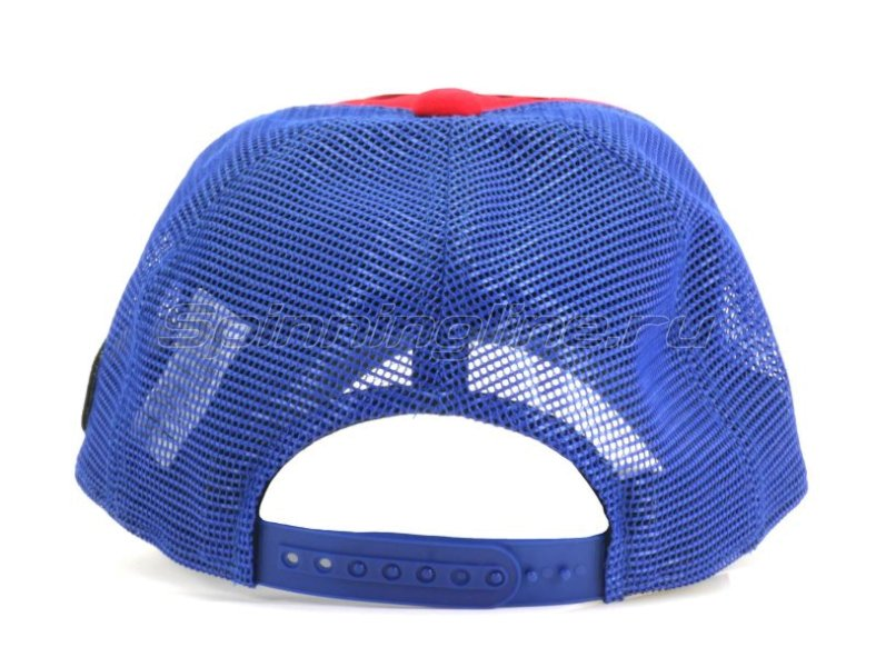 ����� Varivas Cotton Half Mesh Cap Red/Navy - ���������� 2