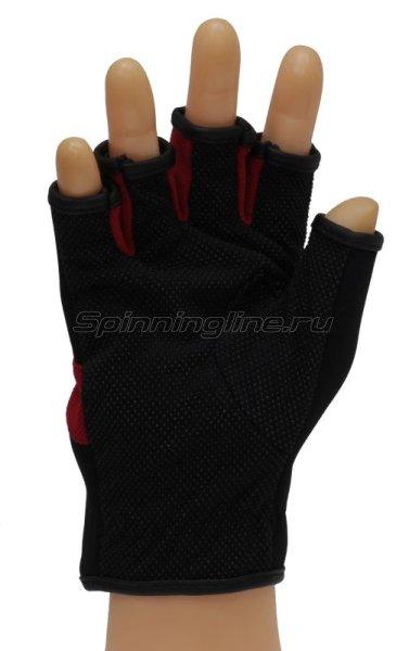 Перчатки Owner без пальцев M черно-красный -  2