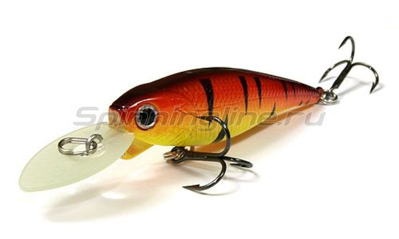Lucky Craft - ������ Bevy Shad MK-II 60SP Fire Tiger 082 - ���������� 1