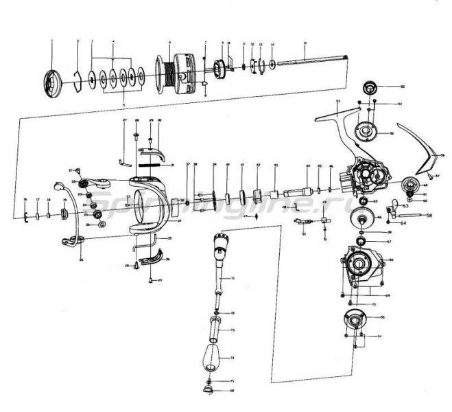 Stinger - Катушка Blaxter 2000 - фотография 10