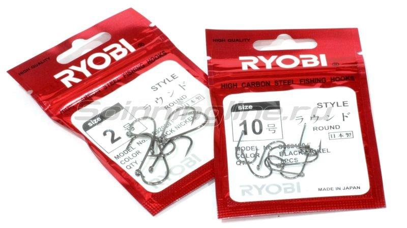 Крючок Ryobi Round с колечком BNi №10 – купить по цене 50 рублей в Москве и по всей России в рыболовном интернет-магазине Spinningline