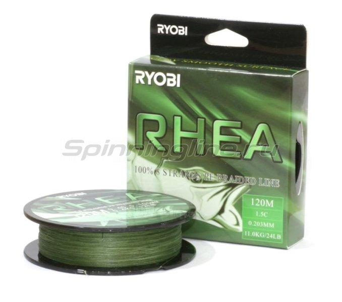 RYOBI - Шнур PE Rhea 8х 120м 0,128мм - фотография 1